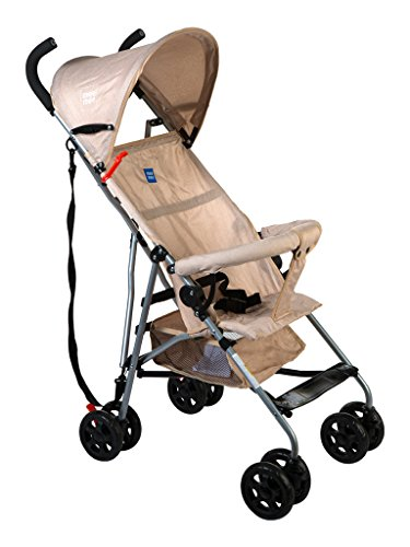 Mee Mee Stylish Light Weight Baby Stroller (Beige)