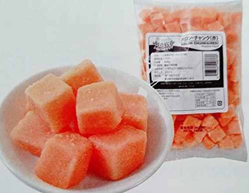 メロン チャンク 赤 500g×20P トロピカルマリア 冷凍 業務用
