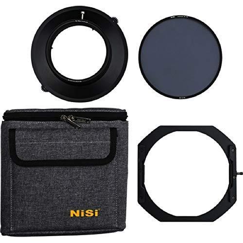 NiSi Uchwyt filtra 150 mm do obiektywu Nikon 14-24 mm F/2,8 z krajobrazem CPL S5 do ultraszerokich soczewek firmy Ikan, czarny (NIP-FH150-S5-EN-N1424)