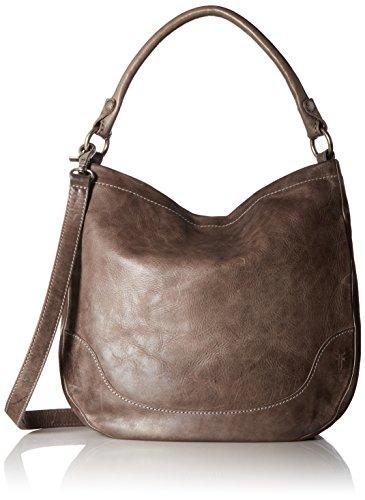 Strap Drop: Y inches; Pockets: 2 slip, 1 zip; includes dust bag