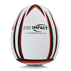 Pro Impact Rebounder Match Rugby Ball White from Pro Impact