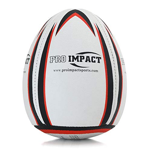 Pro Impact Rebounder Match Rugby Ball White