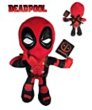 Marvel - Peluche Deadpool Postura Mano Ok 32cm Calidad Super Soft
