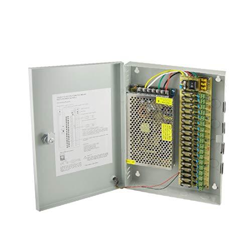 New Lon0167 DC 12V Destacados 10A 18 CH eficacia confiable 18 canales Cámara CCTV Caja de fuente de alimentación distribuida(id:4b9 08 18 d63)