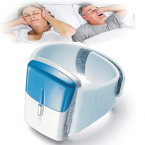 Smetti di Russare Snore Stopper Biosensor Il Raggio Infrarosso Rileva Il Dispositivo Anti Russare Orologio da Polso Notte Aid