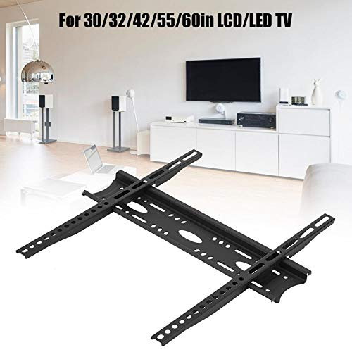 NO LOGO Soporte de Pared para TV de 50 kg de sólidos Cargando Soporte Sin Caer 30/32/42/55 / 60in LCD/LED TV TV Soporte de Montaje en Pared