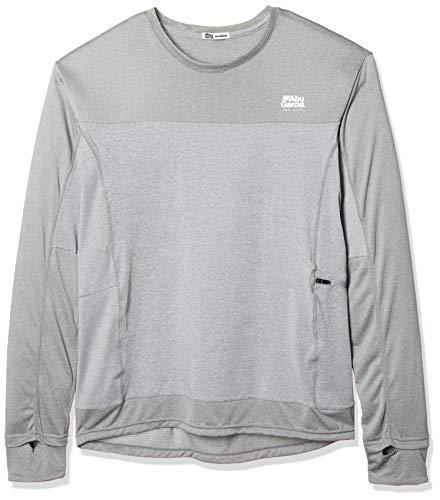 アブガルシア(Abu Garcia) スコーロン 防虫&冷感UVドライ ロングスリーブTシャツ グレー M 1506972 グレー