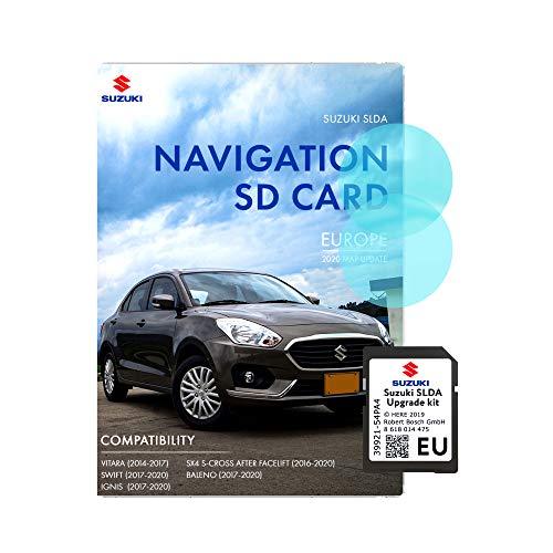 Die neueste Suzuki SD-Karte 2020 für Suzuki Ignis SD-Karte Sat Navigationskarten Update für ganz Europa Suzuki Vitara, Swift, IGNIS, SX4 S Cross After Facelift, BALENO