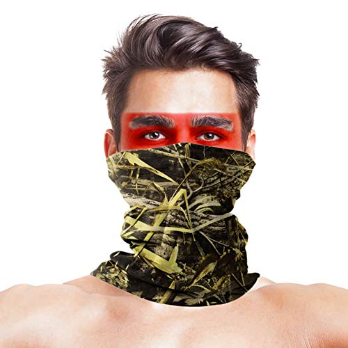 Nature Maple Laat Vissen Gezichtsmasker Bandana Polyester Anti UV Masque Winddicht Winter Hoofd- en nekwarmer Gezichtsmasker Sportkleding