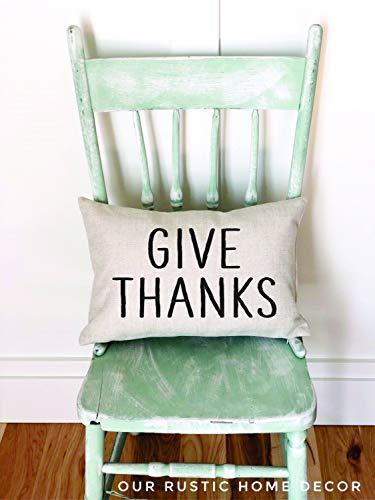 Funda de almohada para decoración de otoño, decoración de otoño, decoración de Acción de Gracias, funda de almohada para casa de campo, decoración de granja