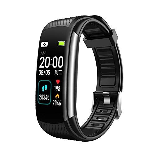 GIHI Smart Band Fitness Tracker, 24/7 Continuous Heart Rate Monitor Waterproof Scientific Sleep Monitor, 0.96'Color Screen Smart Watch Activity Monitor for Kids Women Men