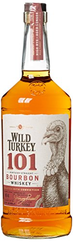 Wild Turkey 101 Proof Bourbon Whiskey (1 x 1 l)