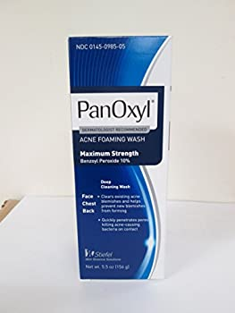 PanOxyl Acne Foaming Wash 10% Benzoyl Peroxide 5.5 Ounce  Value Pack of 6