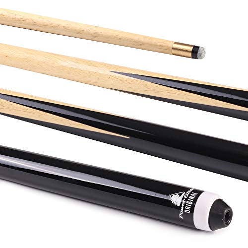 POWERGLIDE Unisex Snookerqueue, 142,2 cm, Schwarz, 132,2 cm