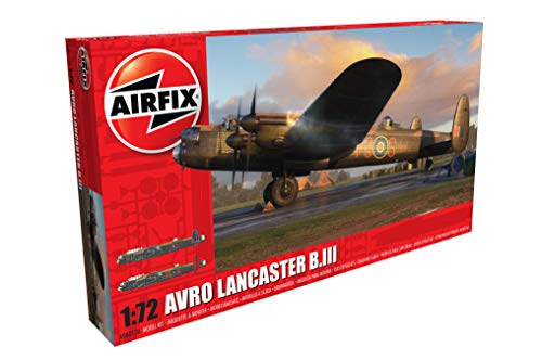 Airfix A08013A 1/72 Modellbausatz Avro Lancaster B.I/B.III, grau