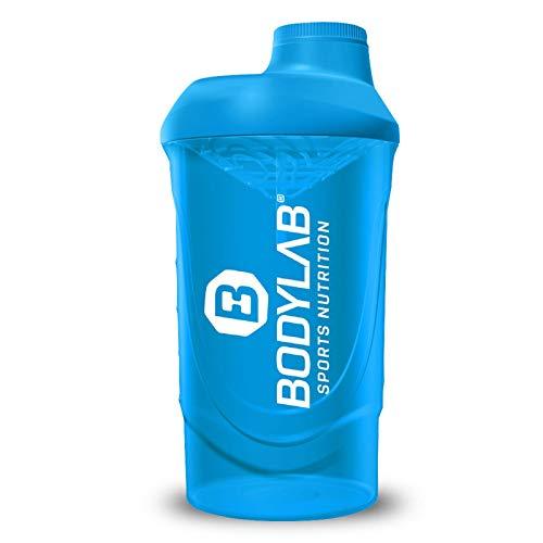 Bodylab24 Shaker 700ml Blau, der praktische Eiweiß-Shaker für deinen Proteinshake, mit Schraubverschluss und Sieb für cremige Shakes, BPA-frei, Fitness Shaker für klumpenfreie Shakes