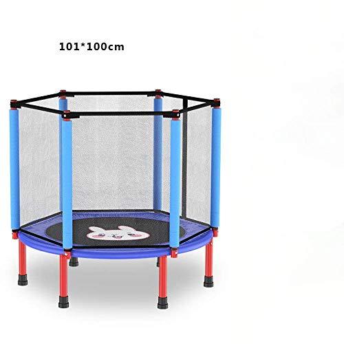 LuoMei Bounce-Trampolin-Fitness Kindergarten-Trampolin Ideal für Das Cardio-Training im HaushaltF