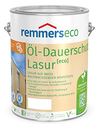 REMMERS ECO OEL-DAUERSCHUTZ-LASUR - 2.5 LTR (PALISANDER RC-720)