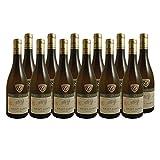 Saint-Aubin Vieilles Vignes Blanc 2017 - Château de Santenay - Vin AOC Blanc de Bourgogne - Cépage Chardonnay - Lot de 12x75cl - Médaille d'Or 2019 Burgondia