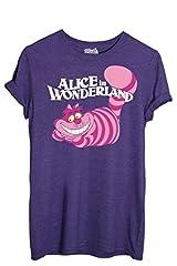 T-Shirt Gato De Cheshire Alicia En El País De Las Maravillas