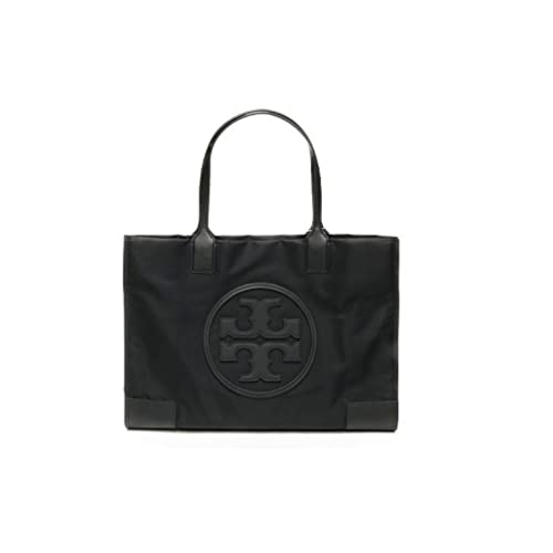 Title Tory Burch Ella Colorblock Nylon Logo Tote Bag