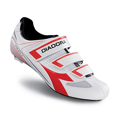 DiadoraTrivex II - Zapatos de Ciclismo de Carretera Unisex Adulto, Color Negro, Talla 42 EU