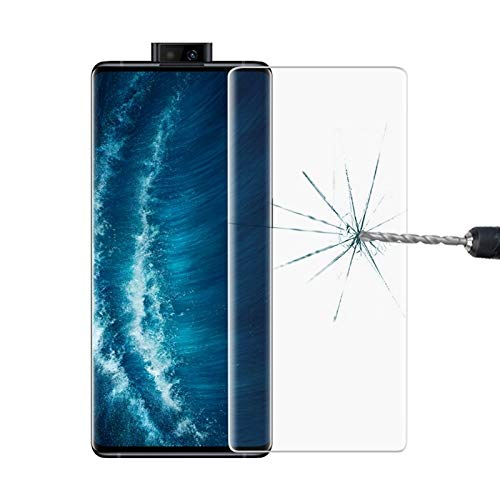 TAIQIXI Anti QIX for Vivo NEX 3S 5G 9H HD 3D Gebogene Kante Gehärtetes Glas Film Schutz