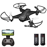 tech rc Mini Drone HD Camera FPV Live Video 6-Axis Gyro Quadcopter, One Key Takeoff and Landing, Headless Mode, Altitude Hold, App Control Available Toy Drone for Kids and Beginners