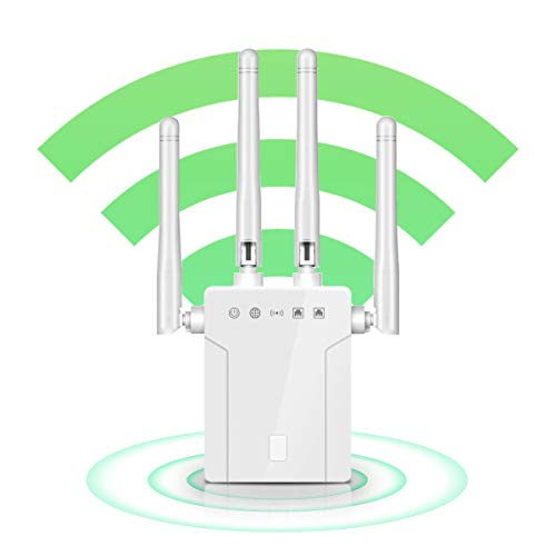 WiFi Extender, WiFi Repeater, Cover Up to 2500 sq.ft and 30 Devices, 1200Mbps...