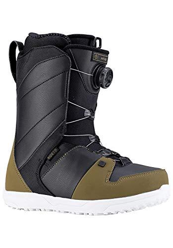Ride Mens Anthem Snowboard Boots, Olive Black, 8 -  R1803008