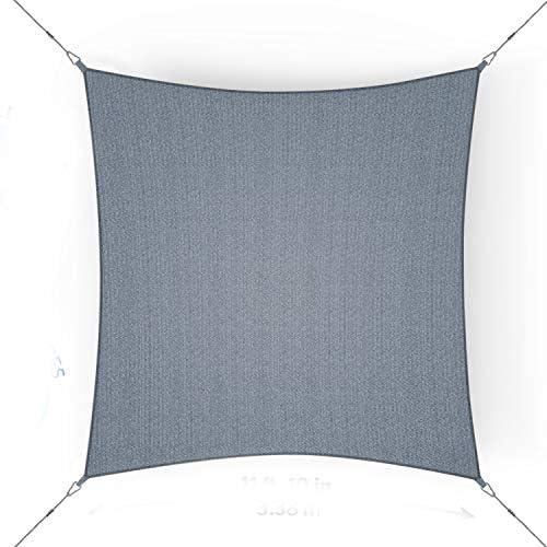 Coolaroo 473280 Ready to Hang Shade Sail Steel product image