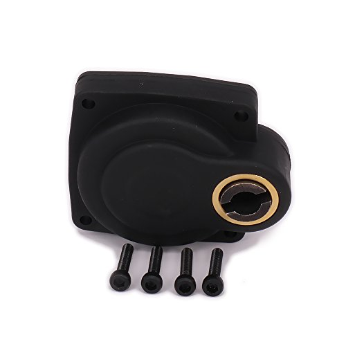 Racing Backplate Electric Starter Roto E-Start 28 Nitro Engine Back Cover T10048 11012 to Fit 12mm One Way Bearing 1/8 RC Model Hobby Car (Black)