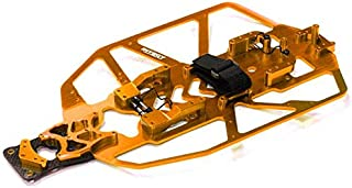 Integy RC Model Hop-ups T8091ORANGE Alloy Chassis Conversion Set for Traxxas 1/10 Electric Slash 2WD