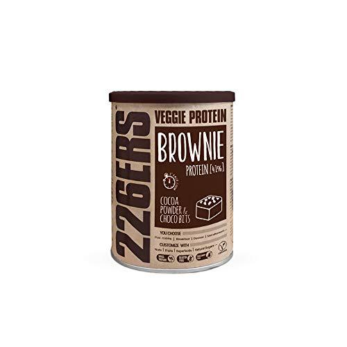 Evo Vegan Protein Brownie, Mezcla para Brownies de Proteína Vegana con Harina de Teff, Cocoa & Choco Bits   420 gr