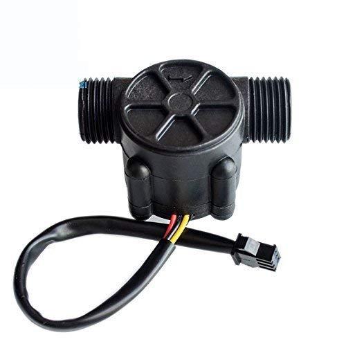 UIOTEC YF-S201 1-30L/min Water Flow Hall Counter/Sensor Water Control Water Flow Rate Switch Flow Meter Flowmeter Counter*