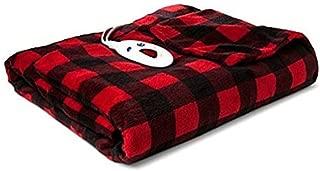Biddeford Blankets 4462-9062119-316 Microplush Heated Throw, Buffalo Check