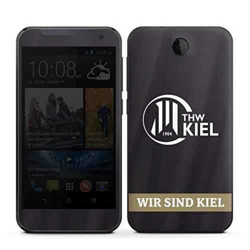 Folie kompatibel mit HTC Desire 310 Aufkleber Skin aus Vinyl-Folie Fanartikel THW Kiel Handball