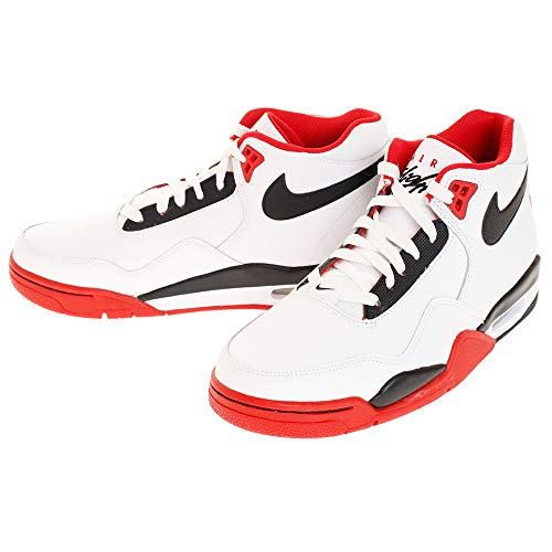 Nike Flight Legacy White/Black/University Red 12
