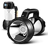 LED Camping Lantern, Large Flashlight 1200m Super Bright with Fully Adjustable 360 Arc Lighting and 4000mAh Power Bank Portable Hanging for Outdoor Emergency Hiking Fishing (LED Camping Lantern1)