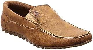 brandvilla Men's Brown Loafers-10 UK/India (44.5 EU) (bv-611)