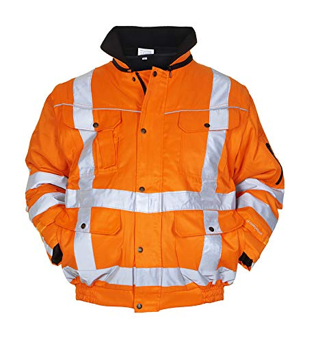 EN 471-RWS winterjas 4 in 1, HV oranje