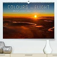 Colours of Flight - Stimmungen ueber den Wolken (Premium, hochwertiger DIN A2 Wandkalender 2022, Kunstdruck in Hochglanz): Romantische Wolkenstimmungen aus der Vogelperspektive (Geburtstagskalender, 14 Seiten )