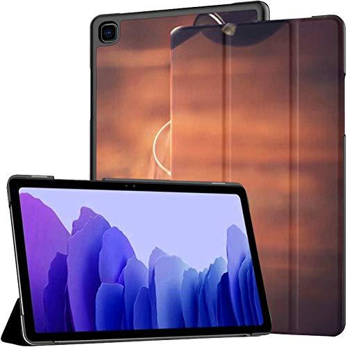 Funda para Tableta Samsung A7 Que vierte Vino Tinto en un Vaso contra la Funda para Samsung Galaxy Tab A7 10,4 Pulgadas Funda Protectora de liberación 2020 Funda Protectora para Samsung Galaxy A7 Fun