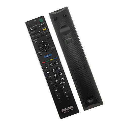 Mando a distancia de repuesto Sony RM-ED011 para Sony Bravia TV, compatible con mando a distancia para Sony TV