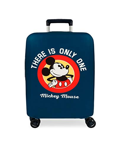 Disney Funda para Maleta de Cabina Mickey, Azul