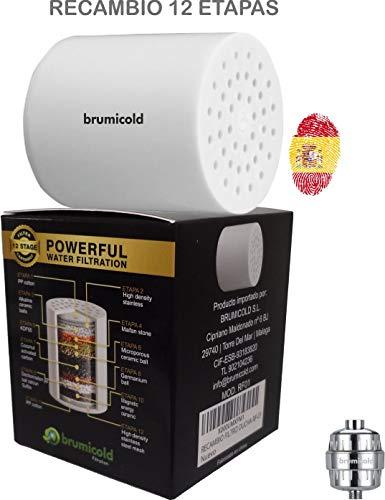 BRUMICOLD SPAIN recambio filtro ducha...