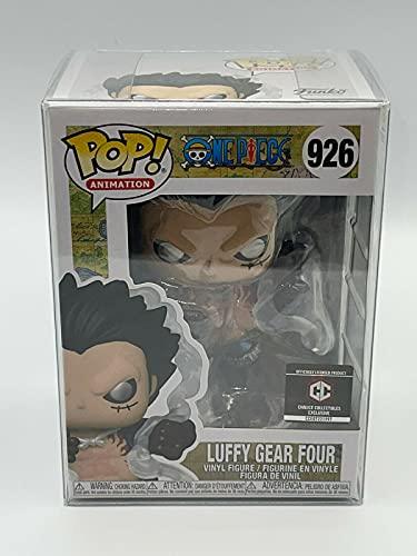 Funko Pop! One Piece: Luffy Gear Four # 926 Exclusivo con funda protectora de cáliz Collectibles...
