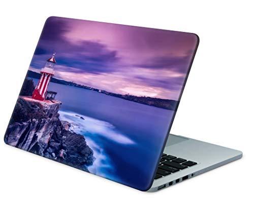 Skins4u Folie Sticker Skin Vinyl Aufkleber mit farbenfrohen Motiven für bis 17.3 Zoll 42x30cm Laptop Skin Decal Cover Meerenge