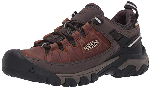 KEEN Mens 1023027_44 Trekking Shoes, Braun Chestnut Mulch, EU