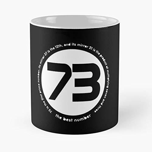 Mememecosmetics Cooper TV 73 Number Show Sheldon Geek Big Bang Taza de café con Leche 11 oz